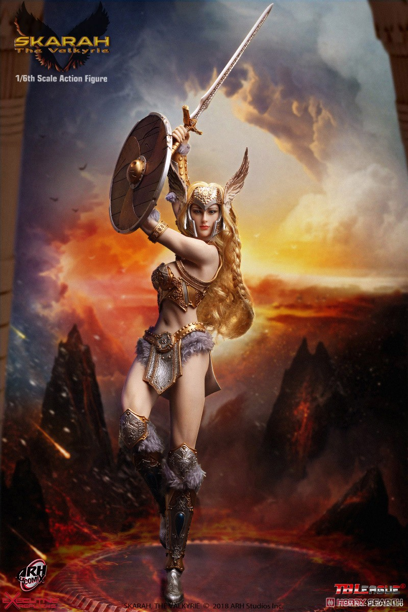 TB League 1/6 Collectible Action Figure Scalar The Valkyrie (Fashion Doll) Other picture1