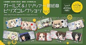 ガールズ&パンツァー最終章 ピンズコレクション Vol.2 (10個セット) (キャラクターグッズ)