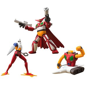 Super Mini Pla - Getter Robo Armageddon Vol.1 (Set of 3) (Shokugan)