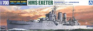 HMS Exeter `Operation Convoy Atlantic Fleet` Limited Edition (Plastic model)
