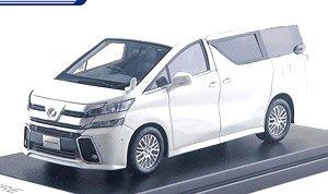 Toyota VELLFIRE ZA `G edition` (2016) ホワイトパールクリスタルシャイン (ミニカー)