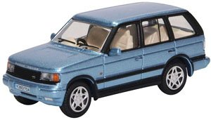 (OO) Range Rover P38 Monte Carlo Blue (Model Train)