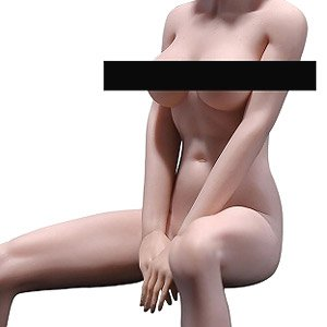 Female Super Flexible Seamless Pale Middle Bust Asian 1/6 Action Figure PLLB2018-S24A (Fashion Doll)