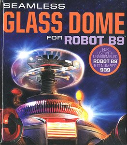 Lost in Space Seamless Glass Dome for Robot B9 (Plastic model)