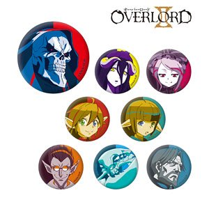Over Lord II Trading Can Badge Color Palette Ver. (Set of 8) (Anime Toy)