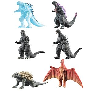 Godzilla Sincerity Complete Works Vol.2 (Set of 10) (Shokugan)