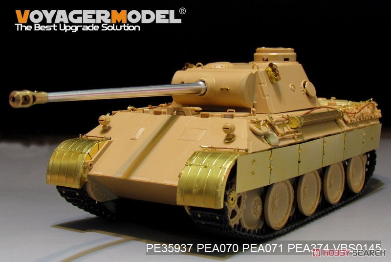 Photo Etched Basic Set Wwii German Panther D Tanks For Meng Ts 038