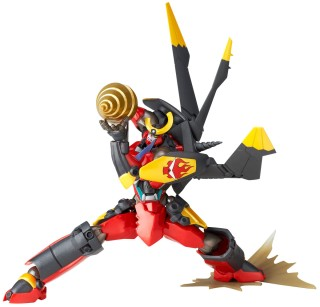 Legacy OF Revoltech Gurren Lagann Gurren Wing Equipped Action Figure w// Tracking