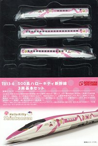 (Z) Series 500 Hello Kitty Shinkansen Standard Three Car Set (Basic 3-Car Set) (Model Train)
