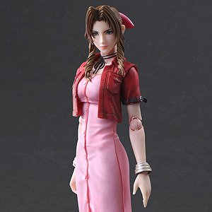 Crisis Core - Final Fantasy VII - Play Arts Kai Aerith (PVC Figure)