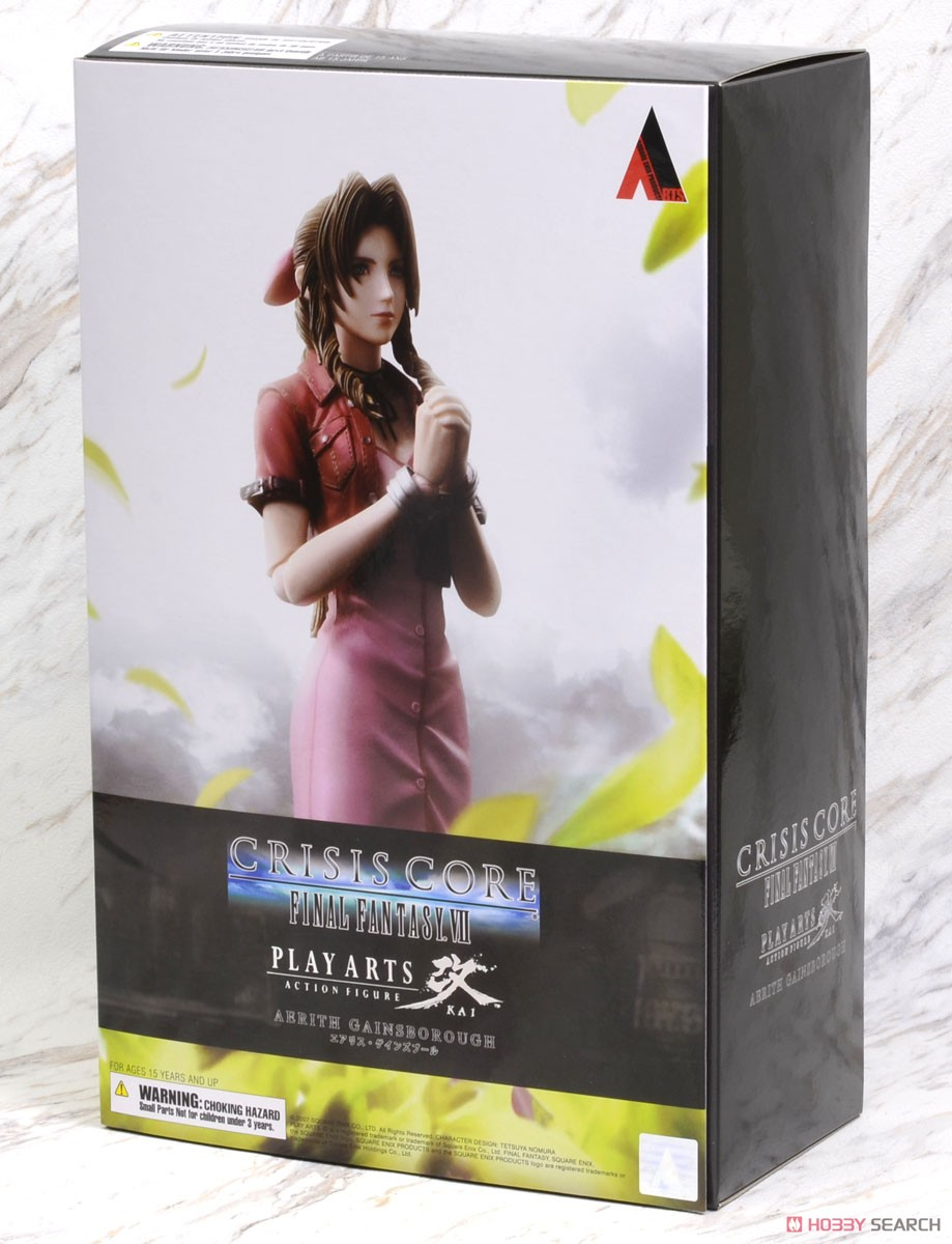 Crisis Core - Final Fantasy VII - Play Arts Kai Aerith (PVC Figure) Package1