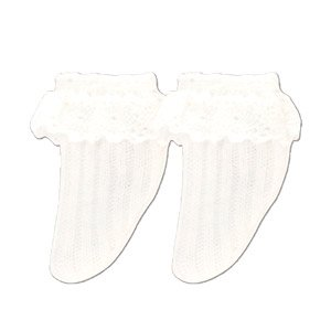 PNM Early Summer Socks White (Fashion Doll)