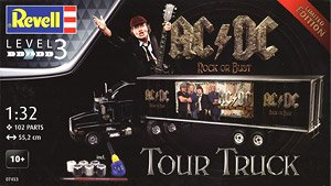 Truck and Trailer `AC/DC` (Model Car)