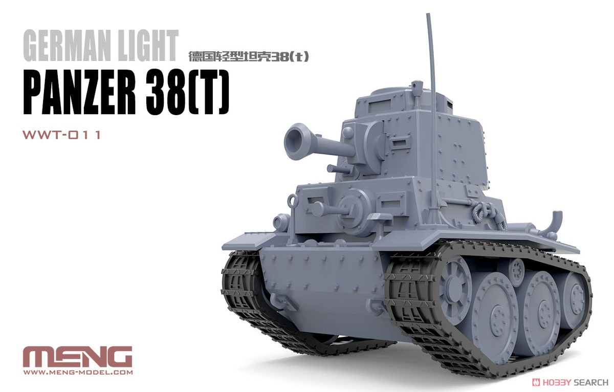 WWT German Light Panzer 38 (t) (Plastic model) Other picture1