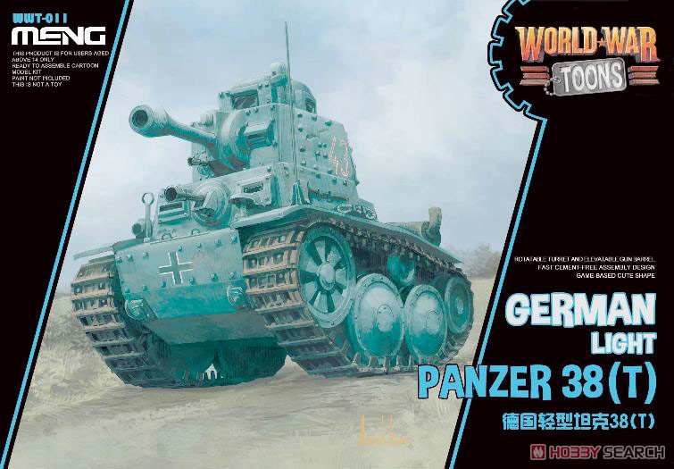 WWT German Light Panzer 38 (t) (Plastic model) Package1