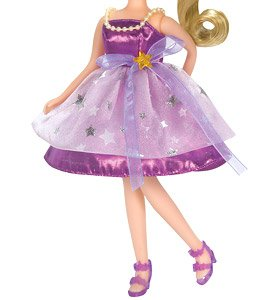 Clothes Licca LW-03 Purple Star (Licca-chan)