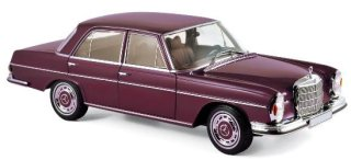 Mercedes 280 SE 1968 dunkel rot 1:18 Norev 183431 neu /& OVP