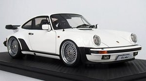 Porsche911 (930) Turbo White (Diecast Car)