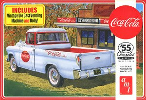 1955 Chevy Cameo Pick Up Coca Cola Model Car Hobbysearch Model Car Kit Store