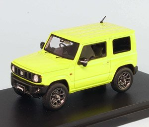 Suzuki Jimny Jb64w Xc Kinetic Yellow Monotone Color Diecast Car