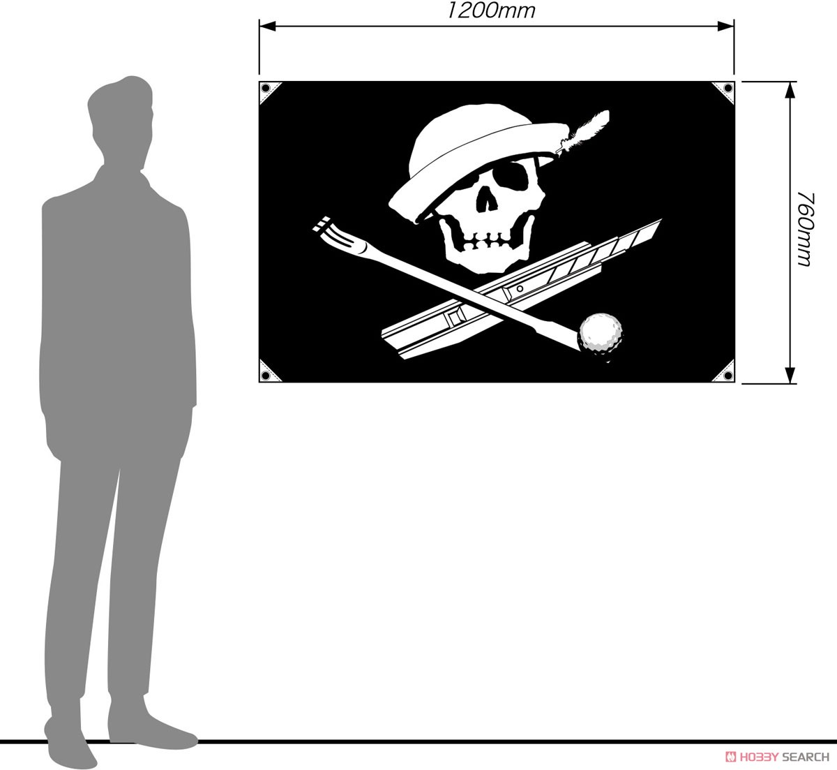 Girls und Panzer das Finale Same-san Team Jolly Roger (Small) (Anime Toy) Other picture1