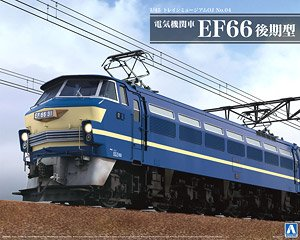 Electric Locomotive Type EF66 Late Type (Plastic model)