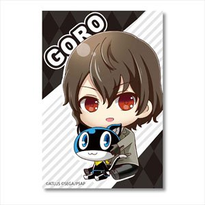 Gyugyutto Big Square Can Badge Persona 5 the Animation/Goro