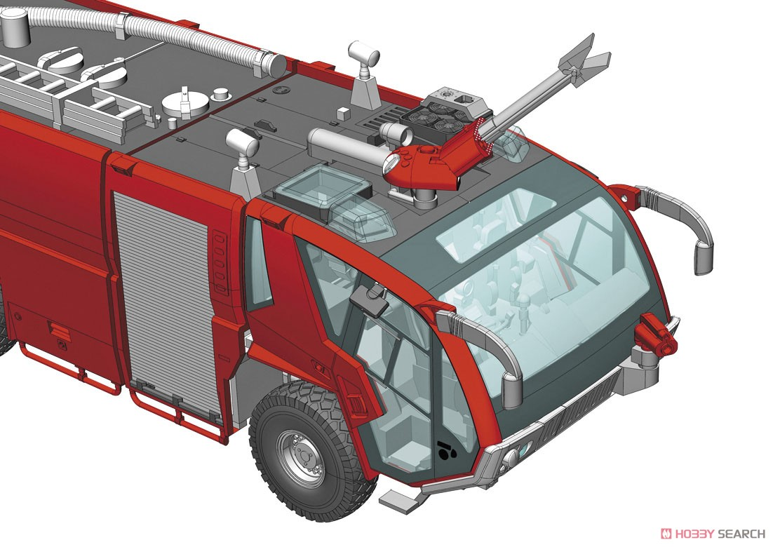 Rosenbauer Panther 6x6 Airport Crash Tender (Plastic model) Other picture7