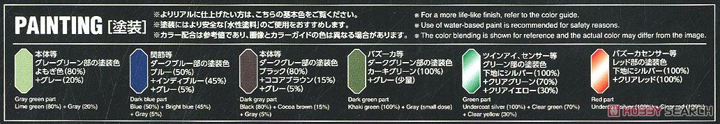 Gun EZ (RE/100) (Gundam Model Kits) Color1