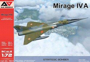 ミラージュ IVA 超音速戦略爆撃/偵察機 (プラモデル)