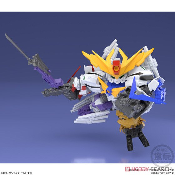 Mini Pla [Gundam Build Divers] Great Shock Gundam (Set of 10) (Shokugan) Other picture6