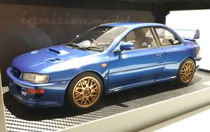 SUBARU Impreza 22B-STi Version (GC8改) Blue ※Normal (ミニカー)