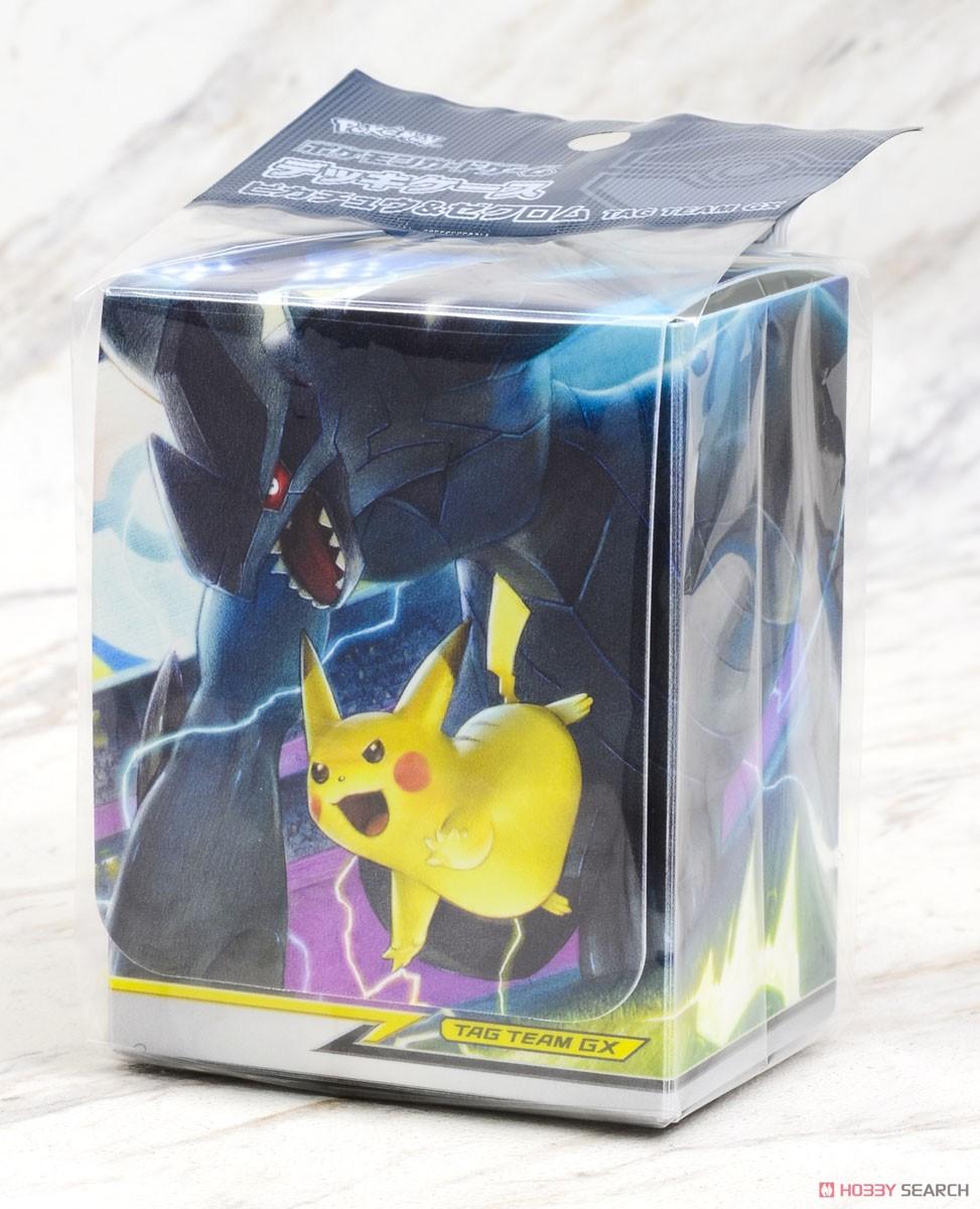Pokemon Card Game Deck Case Pikachu Zekrom Tag Team Gx Card