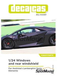 Lamborghini Sesto Elemento Side And Rear Windows Accessory