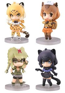 CapsuleQ Characters Kemono Friends Deformation Solid Picture Book -Capsule Friends- Vol.2 Amazon Ver. (Set of 12) (PVC Figure)