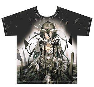 オーバーロードII フルグラフィックTシャツ (アルベド) Lサイズ (キャラクターグッズ)