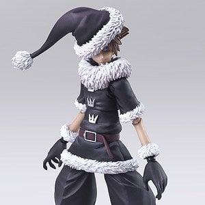 Kingdom Hearts Sora Halloween Town Costume.Kingdom Hearts Ii Bring Arts Sora Christmas Town Ver Pvc Figure