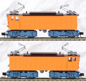 (HOe) The Kurobe Gorge Railway Type EHR Electric Locomotive (2-Car Set) (Pre-colored Completed Model) (Model Train)