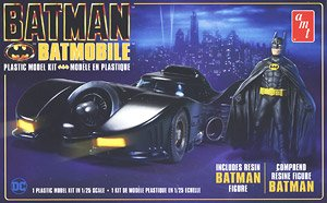 Batmolile (1989) w/Batman Figure (Model Car)