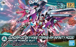 Gundam 00 Sky HWS (Trans-AM Infinite Mode) (HGBD) (Gundam Model Kits)