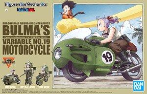フィギュアライズメカニクス ブルマの可変式No.19バイク