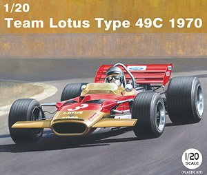 Team Lotus Type 49C 1970 (Model Car)
