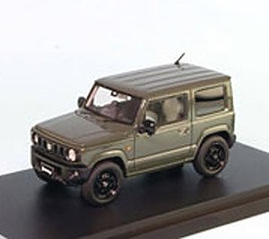 Suzuki Jimny Jb64w Xl Jungle Green Monotone Color Diecast Car