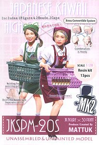 JK Figure Series JKSPM-20S (1/20 Scale) (Plastic model)