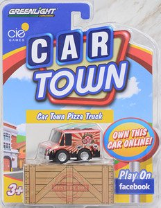 ★特価品 Car Town Series 1 Pizza Truck (完成品)