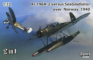 Ar196A-2 vs シーグラディエーター「ノルウェー戦線」 `2 in 1` (プラモデル)