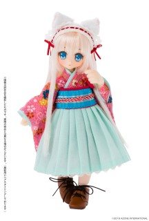 LilFairy  Lipu White cat maid   Picco Neemo D Azone 1//12 Doll PID007-LCL
