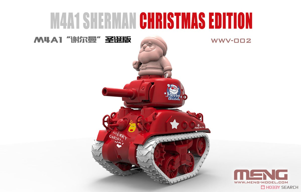 WWV M4A1 Sherman Christmas Edition (Plastic model) Other picture1