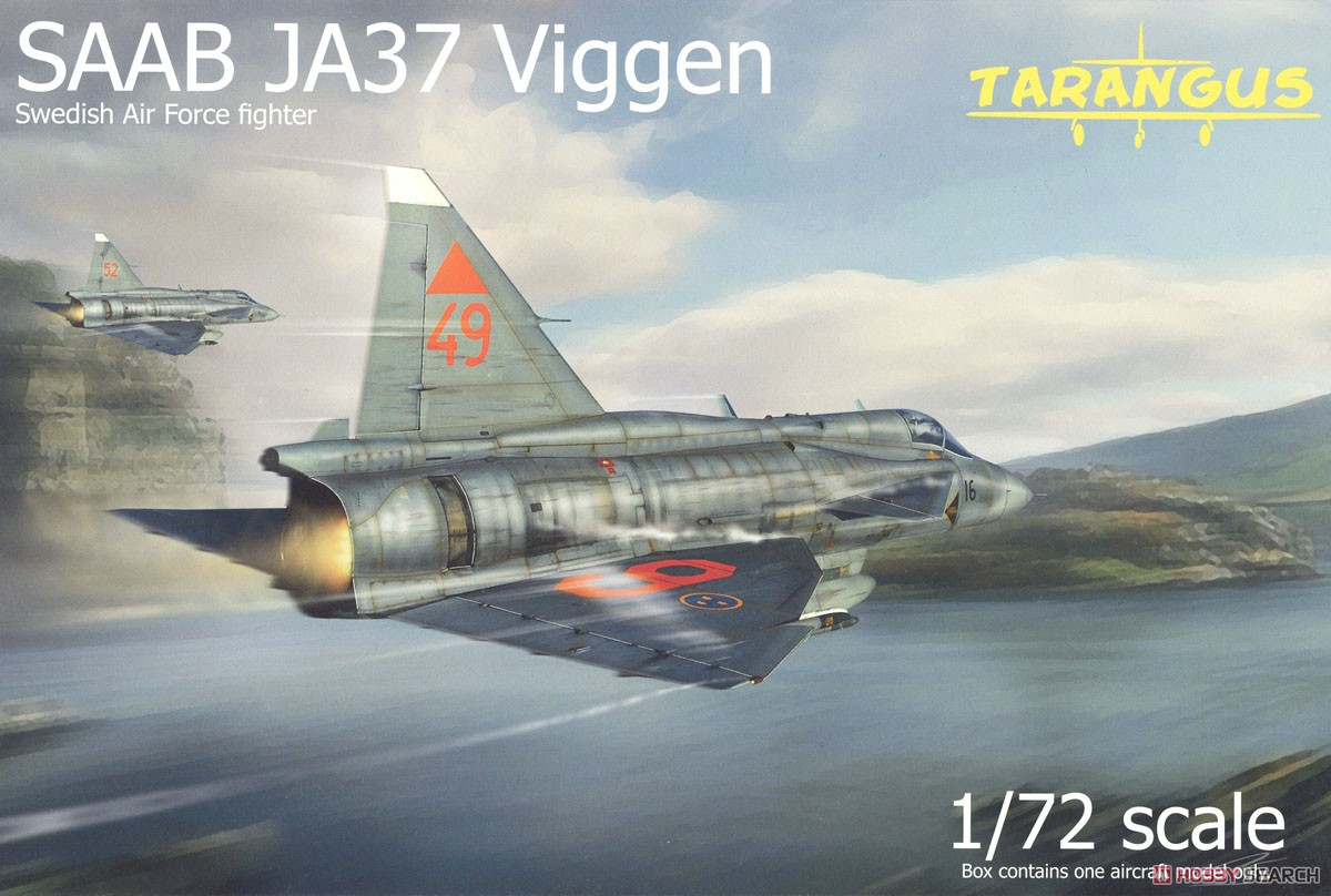 *Bargain Item* Saab JA37 Viggen (Plastic model) Package1