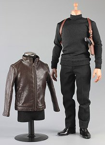 Spy Killer Leather Jacket B Blown (Fashion Doll)